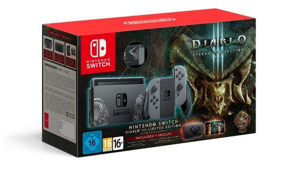 Nintendo Switch Edición Limitada Diablo III Eternal Collection - Nintendo Switch tendrá edición especial de Diablo III
