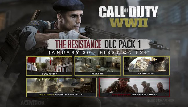 The Resistance DLC Call of Duty WW2