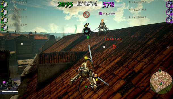 Attack on Titan 2 Numbing Bullets