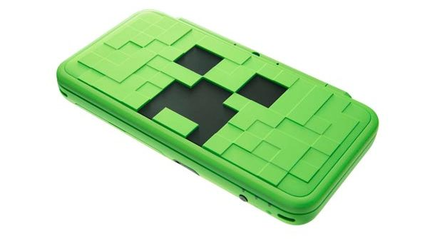 New Nintendo 2DS XL Creeper