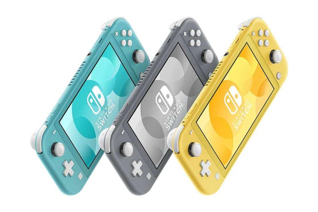 Nintendo Switch Lite Colores - Anunciada Nintendo Switch Lite, la versión más económica y portátil de Nintendo Switch