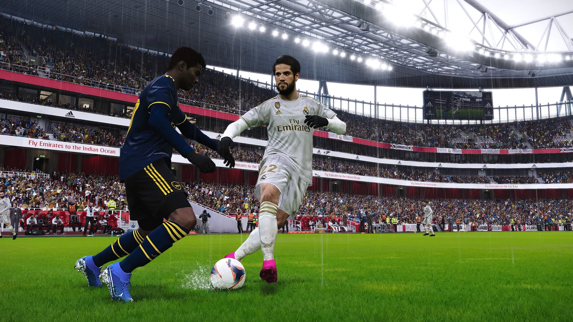 PES 2020 Finesse Dribbling Isco - Análisis eFootball PES 2020