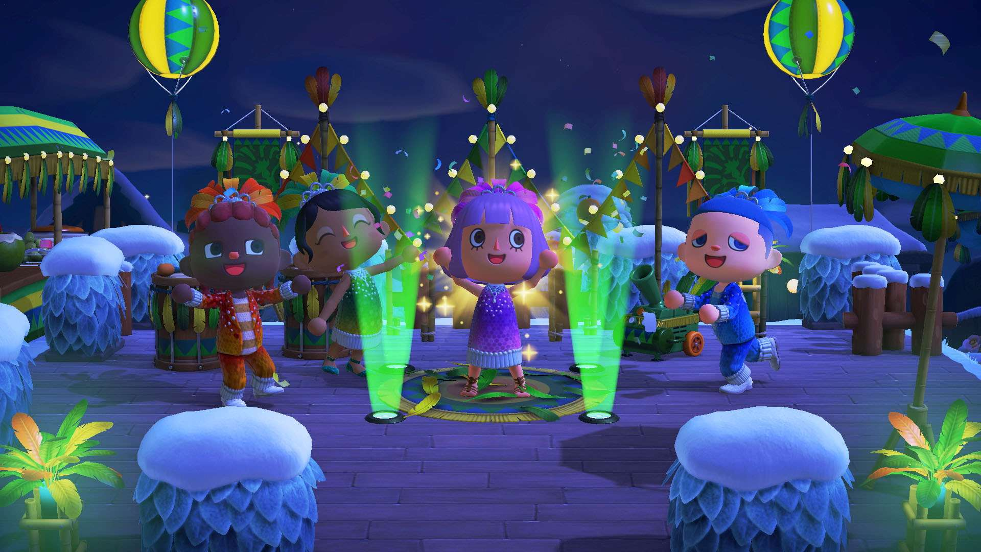 Animal Crossing New Horizons Carnaval Actualizacion 0 - El Carnaval llega a Animal Crossing: New Horizons