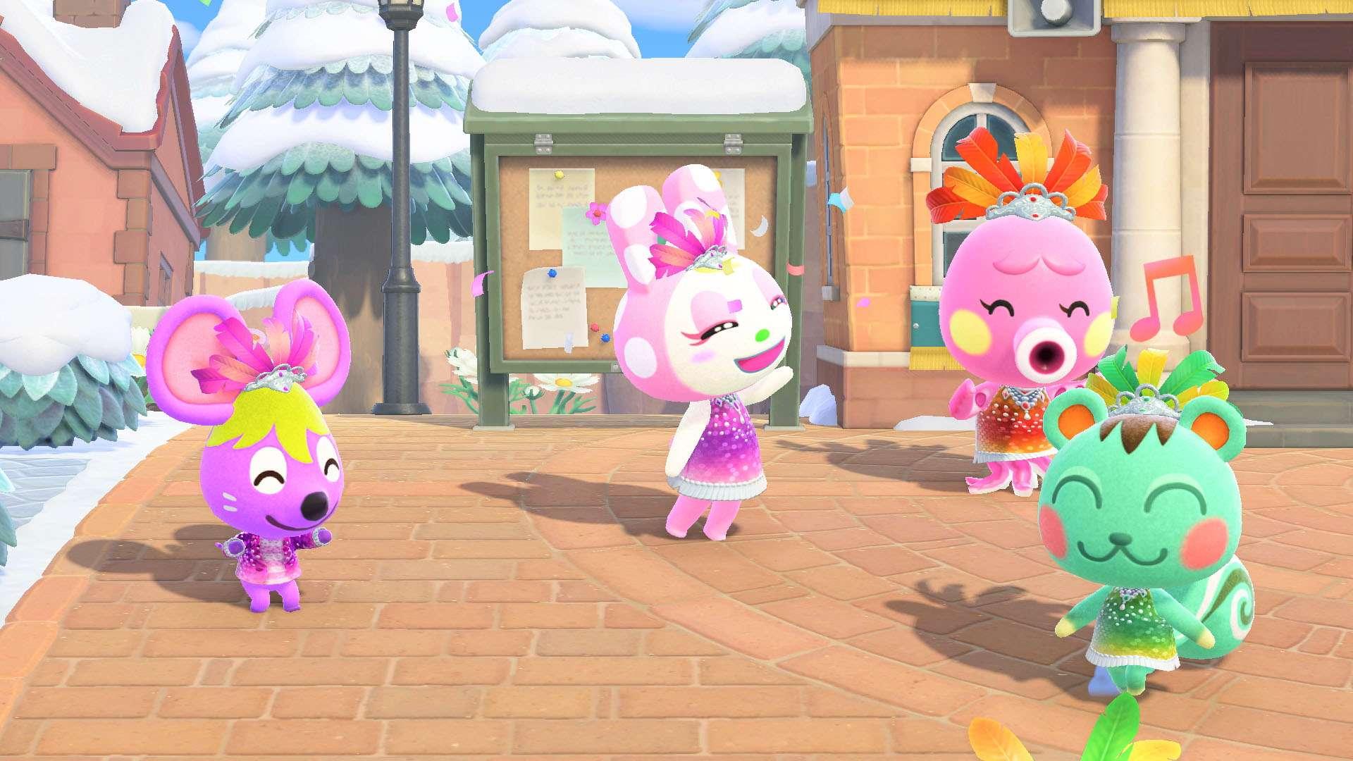 Animal Crossing New Horizons Carnaval Actualizacion 3 - El Carnaval llega a Animal Crossing: New Horizons