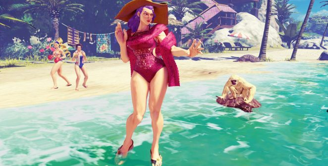Rose Street Fighter V Champion Edition Summer Costume 662x335 - Rose llega a la quinta temporada de Street Fighter V