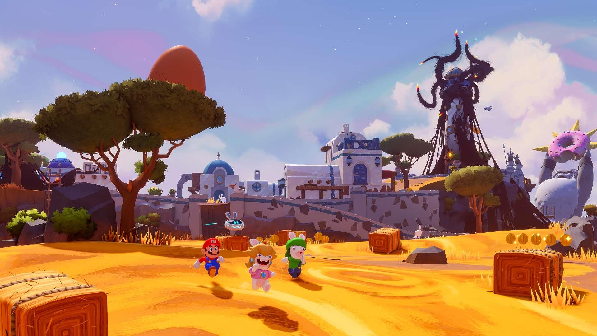 Mario Rabbids Sparks of Hope Screenshot 3 - Ubisoft presenta Mario + Rabbids Sparks of Hope para Nintendo Switch